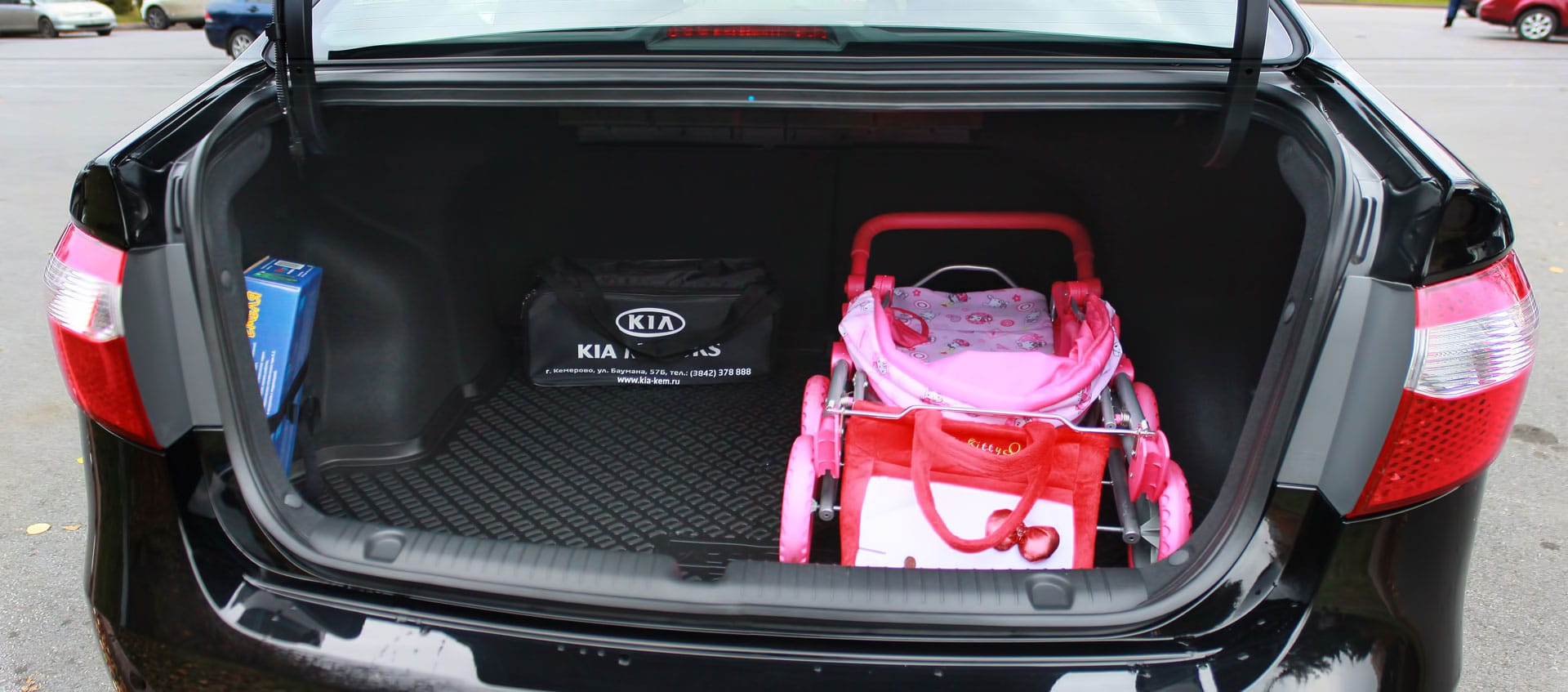 Багажник Киа Рио